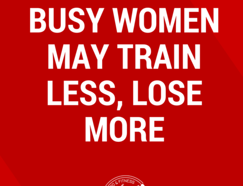 Busy Women May Train Less, Lose More