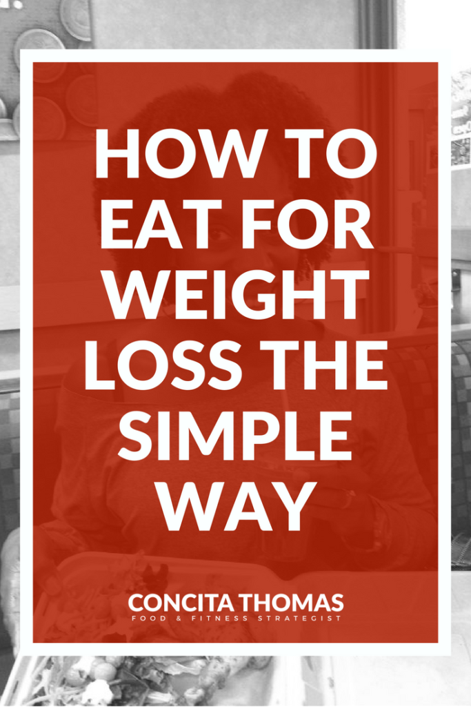 How to Eat for Weight Loss the Simple Way