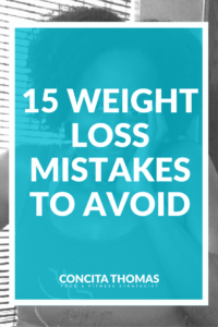 15 Weight Loss Mistakes to Avoid