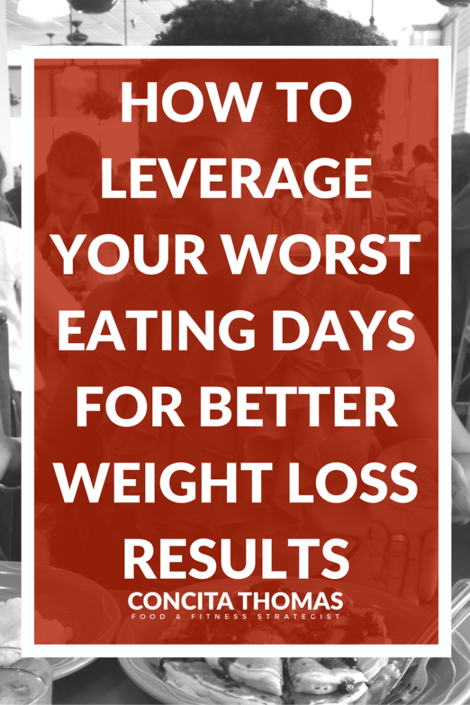 How to Leverage Your Worst Eating Days for Better Weight Loss Results