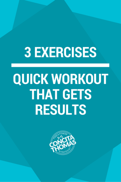 3 Exercise for a Quick Workout that Gets Results: Do you need a quick workout that gets results? Click through to the blog to learn the three moves and a workout that can get you great results in just minutes without leaving your home. Home Workouts, Workouts, Home Workout, Quick Workouts, Short Workouts