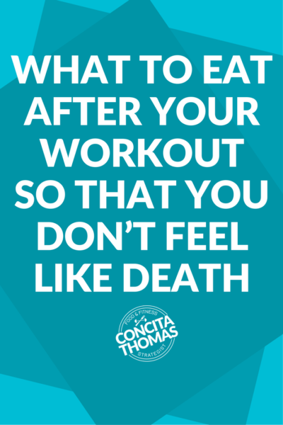 What to Eat After Your Workout So That You Don't Feel Like Death: Learn exactly which foods to eat and avoid after your workout. Eating these foods can mean the difference between feeling energized or exhausted after your workout. Workout, Post-Workout Nutrition, Exercise Nutrition