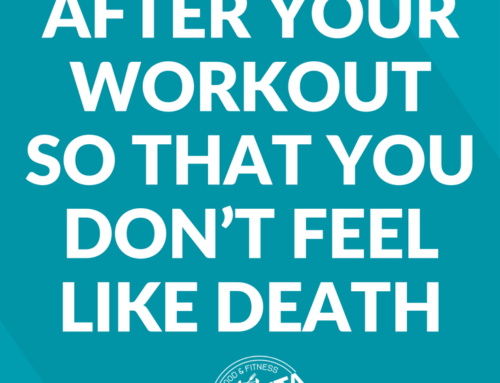 What to Eat After Your Workout So That You Don't Feel Like Death