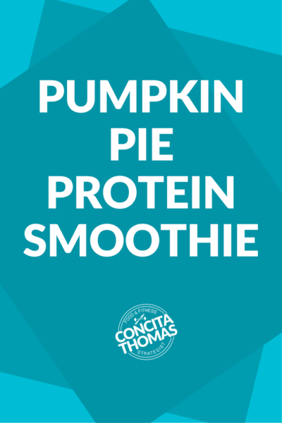 Pumpkin Pie Protein Smoothie: The exact protein smoothie recipe that you need to enjoy all of the holiday flavor without gaining holiday weight. Click through to the blog for the recipe and to watch me make it on video. Protein Shake, Protein Smoothie, Pumpkin Pie, Pumpkin Spice