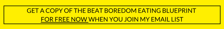 One Trick That Helped Me Beat Boredom Eating: Click through to read the simple hack that I use to avoid eating just because I am bored.