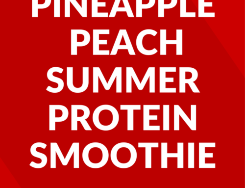 Pineapple-Peach Summer Protein Smoothie