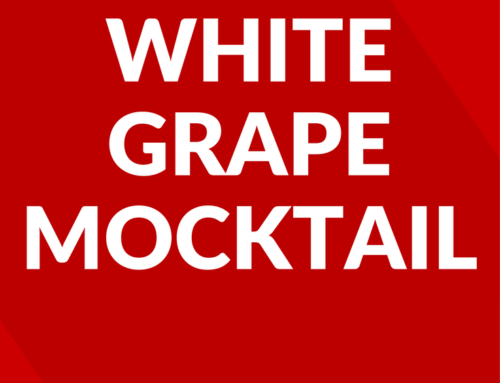 White Grape Mocktail