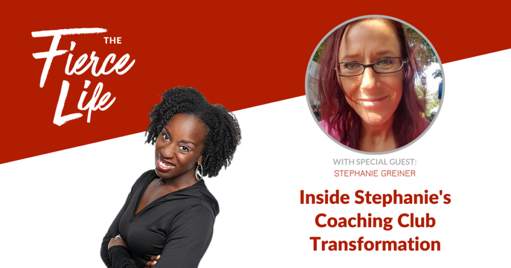 Inside Stephanie's Coaching Club Transformation