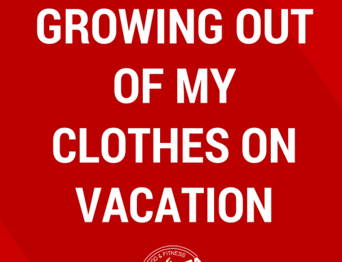 How I Stopped Growing Out Of My Clothes On Vacation