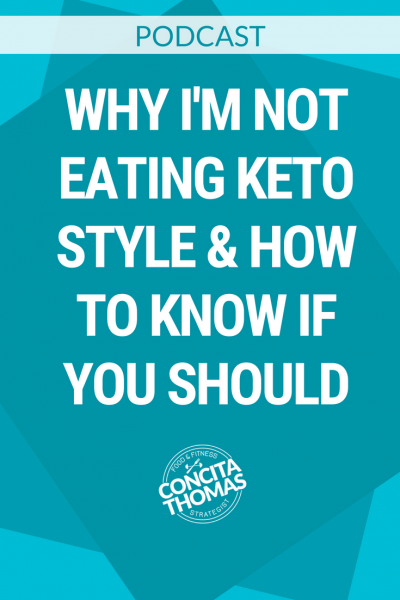 Why I'm Not Eating Keto Style & How to Know if You Should