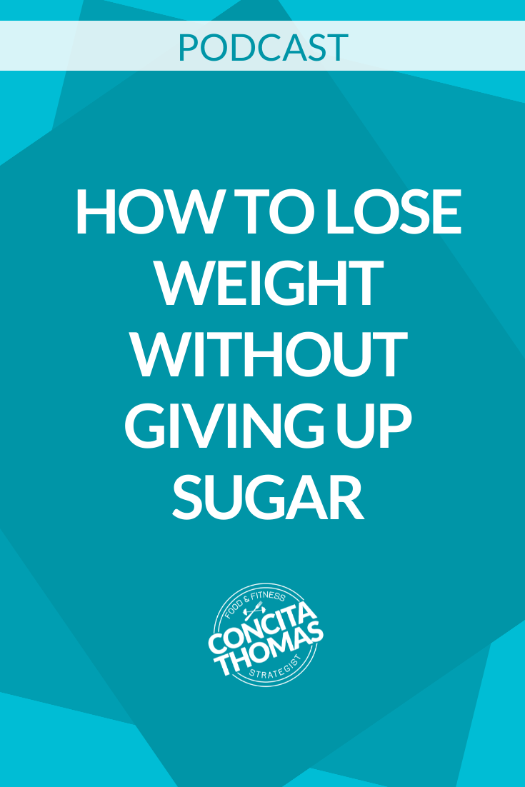 How to Lose Weight without Giving Up Sugar